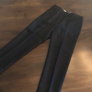 J Crew black cropped pants